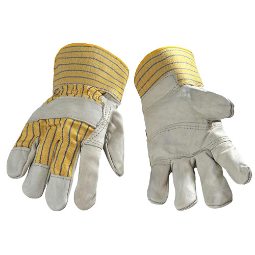 INDUSTRIAL COWHIDE GLOVES - 10