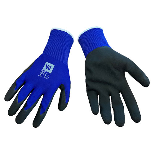 GRIP GLOVES - BLUE - 8