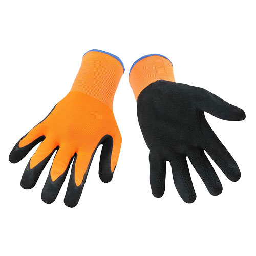 GRIP GLOVES - HIGH VIS. ORANGE - 10
